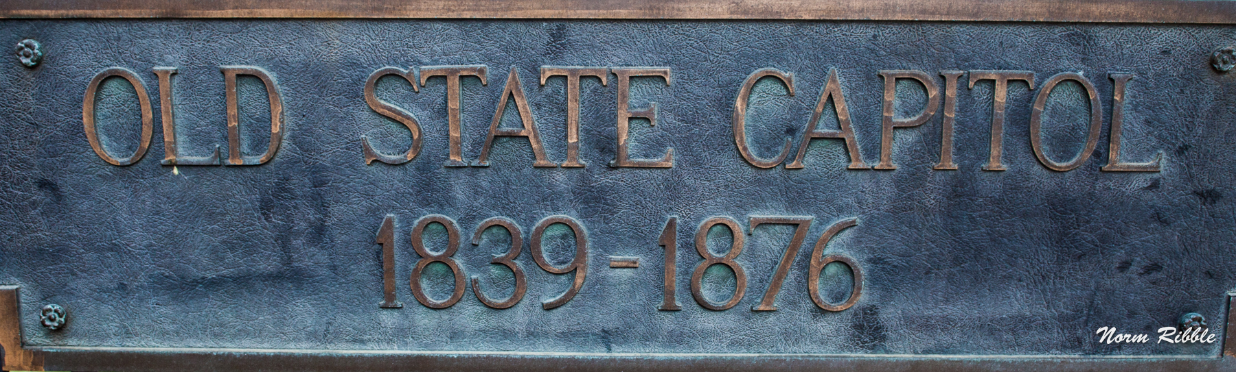 Old Capitol Sign